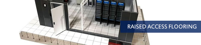 Raised Access Flooring for Server Rooms South Africa